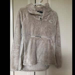 North Face Women Tan Jacket- Medium